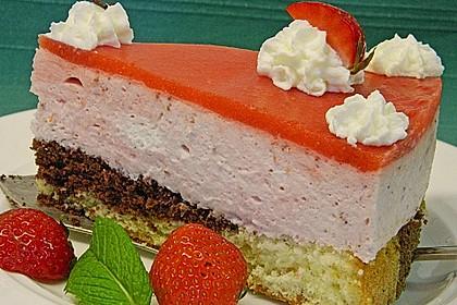 Erdbeercreme -Torte 7