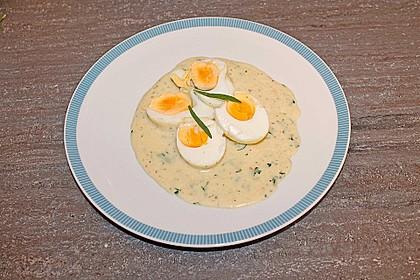 Eier in Estragonsauce 9