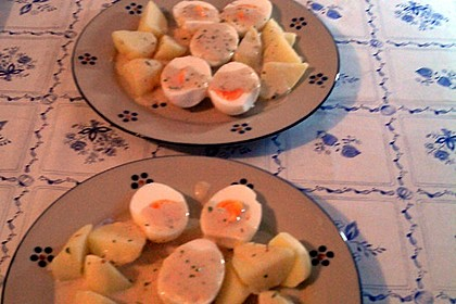 Eier in Estragonsauce 13