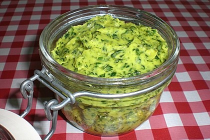 Bärlauch - Curry Butter 18