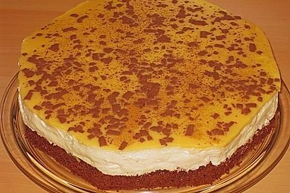 Erdbeer - Schoko - Torte mit Eierlikörspiegel 3