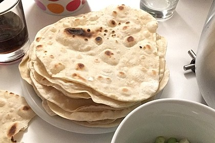 Chapati - indisches Fladenbrot 2