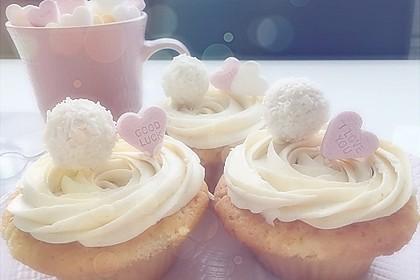 Raffaelo Cupcakes 1