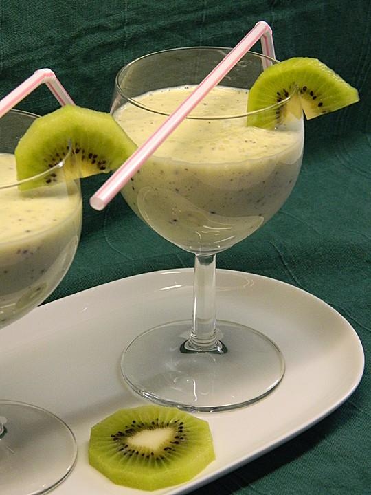 kiwi joghurt smoothie rezept mit bild von kathy1409. Black Bedroom Furniture Sets. Home Design Ideas