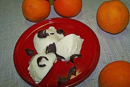 Feine Orangen-Mousse 45