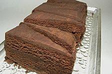 Schokoladenkuchen mit cremigem Kern