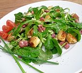 Einfacher Feldsalat
