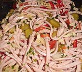 Paprika - Wurstsalat