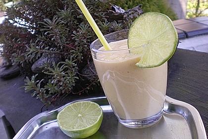 Mango - Limetten Smoothie 2