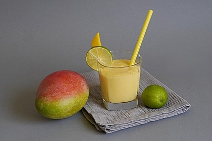 Mango - Limetten Smoothie