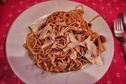 Tintenfisch - Spaghetti mit Limettensauce und Salbei 1