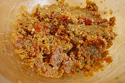 Filetkissen mit Tomaten - Basilikum - Parmesankruste 2