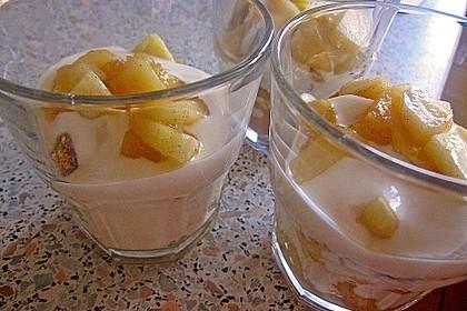 Apfel Joghurt Schichtdessert 11