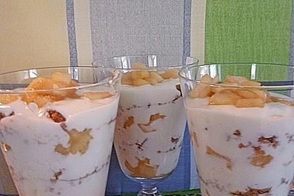 Apfel Joghurt Schichtdessert 6