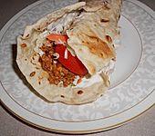 TexMex gefüllte Tortillas (Bild)