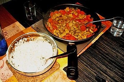 Currygeschnetzeltes nach Christas Art 0