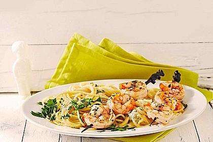 Sommerküche Chefkoch : Zitronenspaghetti mit kräutergarnelen von gourmetkathi chefkoch