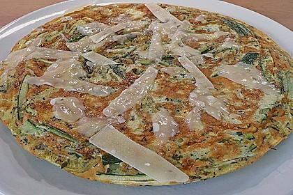 Zucchini-Frittata mit frischem Thymian 7
