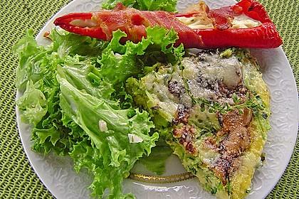Zucchini-Frittata mit frischem Thymian 1