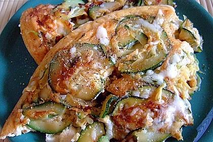 Zucchini-Frittata mit frischem Thymian 9
