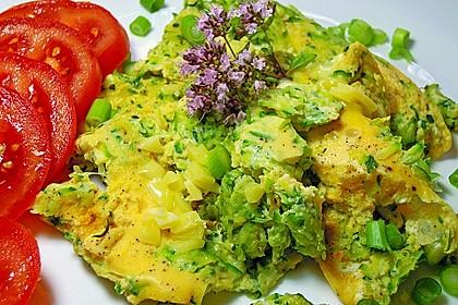 Zucchini-Frittata mit frischem Thymian 4