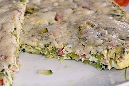 Zucchini-Frittata mit frischem Thymian 6