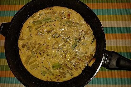 Zucchini-Frittata mit frischem Thymian 3