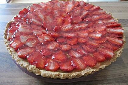 Erdbeertarte mit weißer Schokoladencreme 21