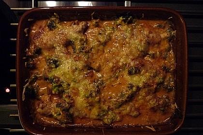 Hähnchen - Brokkoli - Gratin 2