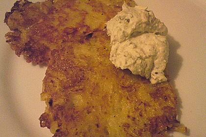 Topinambur-Camembert-Reibekuchen 1