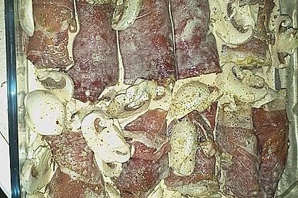 Filet im Speckmantel mit Spätzle 15