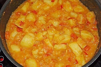 Bombay Kartoffeln 2