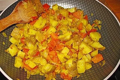Bombay Kartoffeln 3