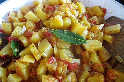 Bombay Kartoffeln 5
