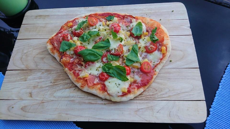 Rösle Gasgrill Pizza : Italienische pizza bigbbq