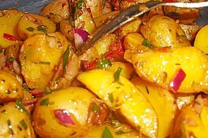 Western Kartoffelsalat mit Hähnchen