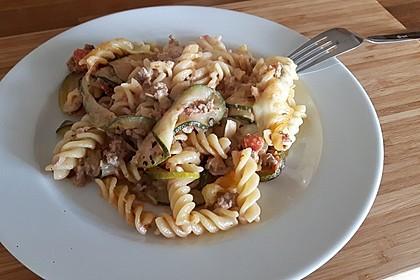 Nudel - Zucchini - Hackfleisch - Auflauf 8