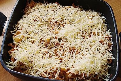 Nudel - Zucchini - Hackfleisch - Auflauf 9