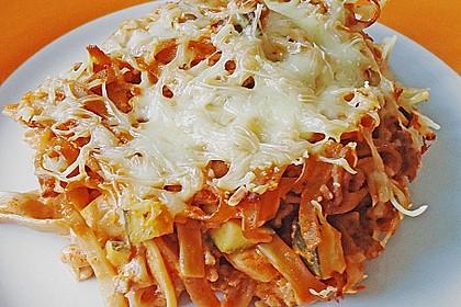 Nudel - Zucchini - Hackfleisch - Auflauf 0