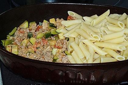Nudel - Zucchini - Hackfleisch - Auflauf 10