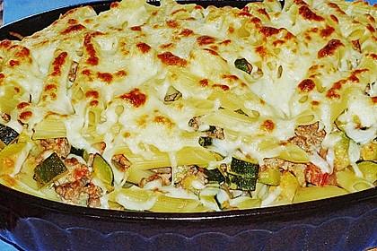 Nudel - Zucchini - Hackfleisch - Auflauf 6