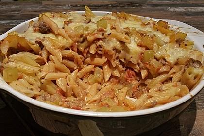 Nudel - Zucchini - Hackfleisch - Auflauf 7