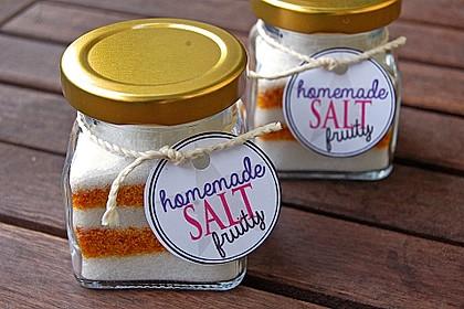 Fruchtiges Salzpulver