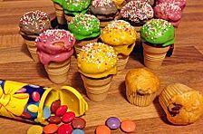 Mini Eiscreme-Cupkakes