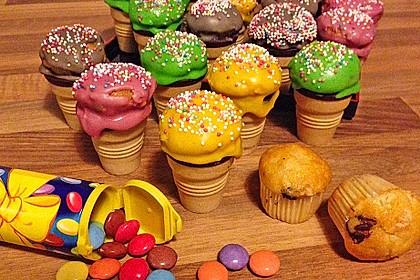 Mini Eiscreme-Cupkakes 1