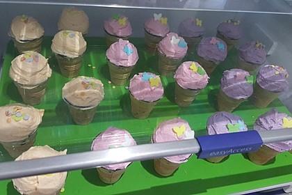 Mini Eiscreme-Cupkakes 4