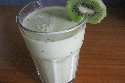 Bananen - Kiwi Smoothie 4