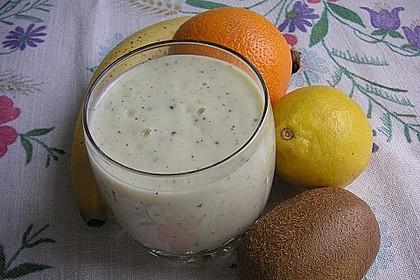 Bananen - Kiwi Smoothie 1