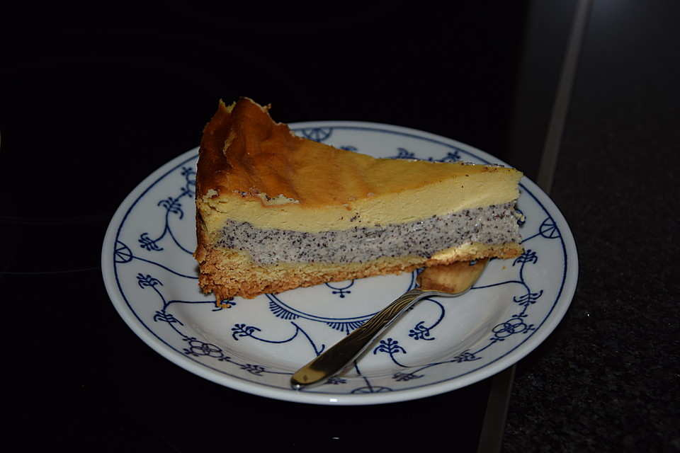 Mohn Schmand Kuchen 16
