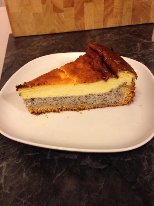 Mohn Schmand Kuchen 7
